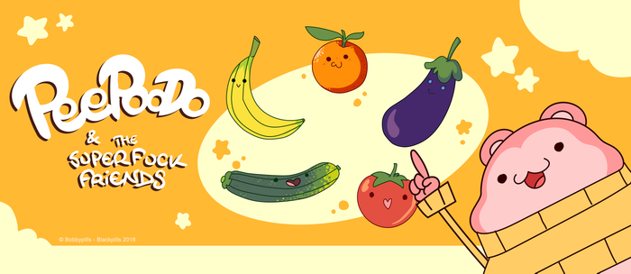 5 Fruits & Vegetables (Peepoodo) Coffee Mug