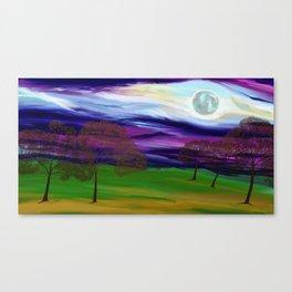 La Luna 10 Canvas Print