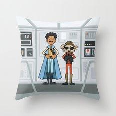EP6 : Lando & Nien Nunb Throw Pillow