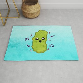 The Dancing Pickle Rug
