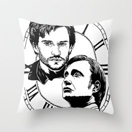Hannigram: place in the time Throw Pillow