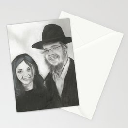 Rebbetzin Rivka and Gavriel Holtzberg Stationery Cards