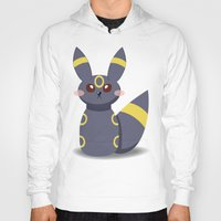 umbreon Hoodies featuring Evolution Bobbles - Umbreon by creativeesc