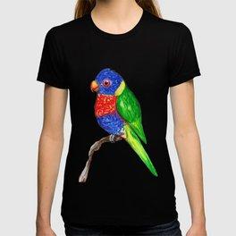 Cute rainbow lorikeet T-shirt