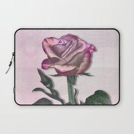 Pink Shimmering Rose Laptop Sleeve