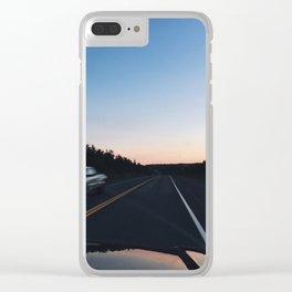 new brunswick Clear iPhone Case