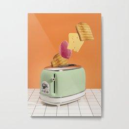 Magic breakfast Metal Print