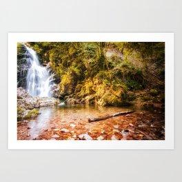 Navarre waterfall Art Print