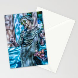 Street Performer Stationery Cards