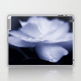 Sweet a beautiful Gardenia flower with water droplets Laptop & iPad Skin