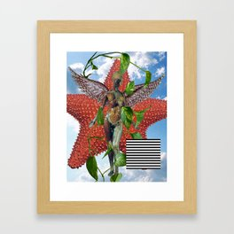 In Utero Tribute Framed Art Print