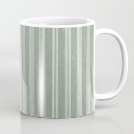 wynwood vertical stripes - sage Coffee Mug
