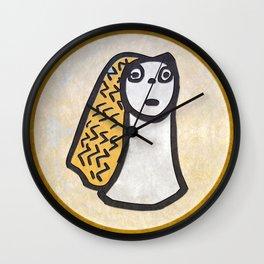 Tribal Idol #1 Wall Clock