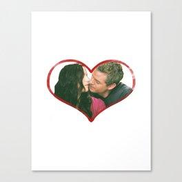 Lexie and Mark Canvas Print