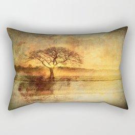 Sunset On The Savannah Rectangular Pillow