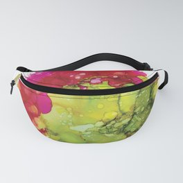 Alcohol Ink - Cactus Flower Fanny Pack