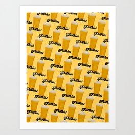 I Love Beer Art Print
