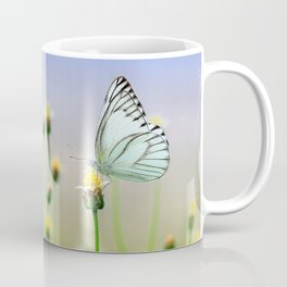 Butterflies on a Plant Coffee Mug