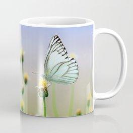 Butterflies on a Plant Coffee Mug