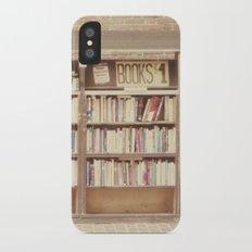 Dollar Books iPhone X Slim Case