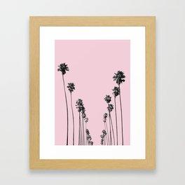 Palm trees 13 Framed Art Print