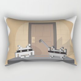 Home invaders Rectangular Pillow