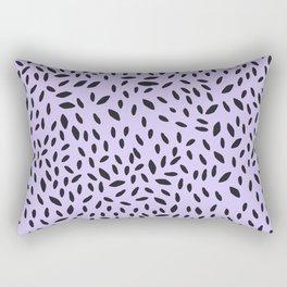 Spots Lavender Rectangular Pillow
