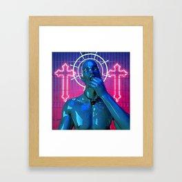 Latex Lover Framed Art Print