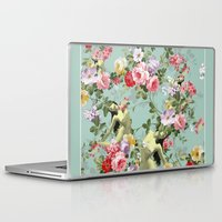 flora Laptop & iPad Skins featuring Flora by mentalembellisher