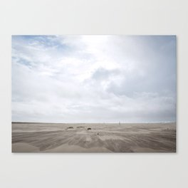 Grayland Beach on a Cloudy Day Canvas Print