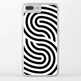 concentric 11 Clear iPhone Case