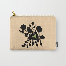 New York - State Papercut Print Carry-All Pouch
