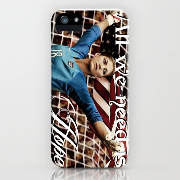 all we need is hope solo iphone case by kip17 society6