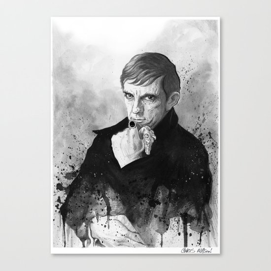 Barnabas Collins DARK SHADOWS Canvas Print