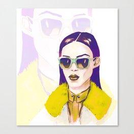 Fashion portrait.  Canvas Print