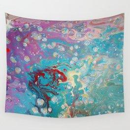 Nebula Lobster Wall Tapestry
