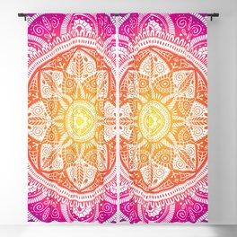 Radiant Mandala Pattern 009 Blackout Curtain