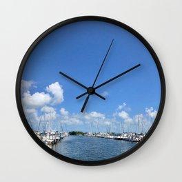 Coconut Grove Wall Clock