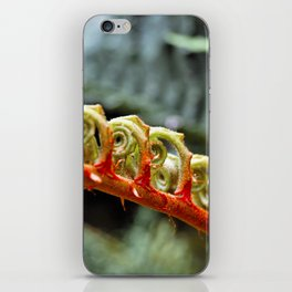 Curled Leaf iPhone Skin