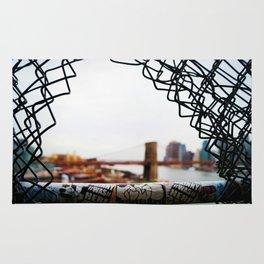 Brooklyn Bridge From A Distance Rug