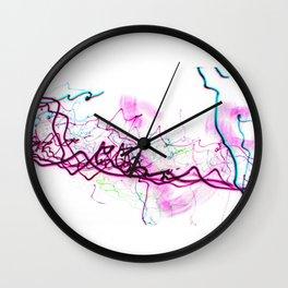 Reclining Nude of Laconia Wall Clock