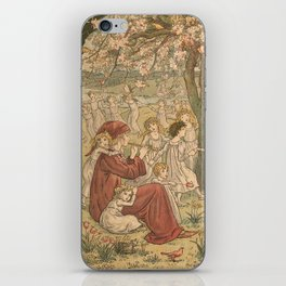 The Pied Piper of Hamelin - Robert Browning iPhone Skin