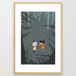 No Trailhead Framed Art Print