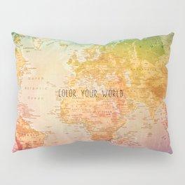 Color your World Pillow Sham