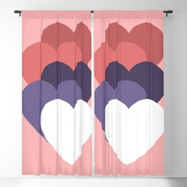 our hearts are not aligned Blackout Curtain