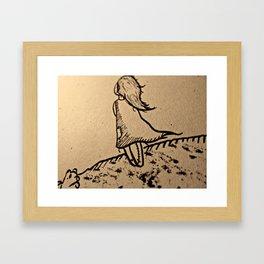 The Lost Girl Framed Art Print