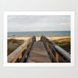 Gulf of Mexico Art Print