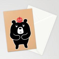 Apple Bear Stationery Cards