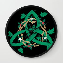 The Holly And The Ivy Wall Clock
