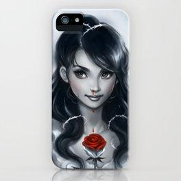 Rose Girl iPhone Case